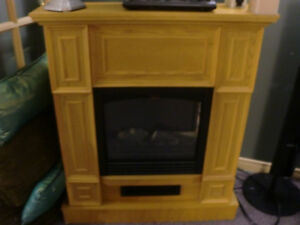 Electric Fireplace (adjustable heater and flame),