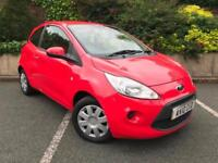 2010 FORD KA 1.2 STYLE PLUS + 12 MONTHS MOT LOW MILES