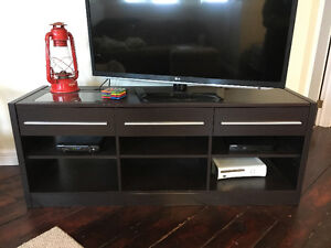 TV Stand with hidden outlets