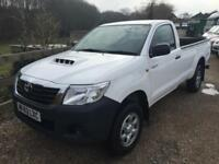 TOYOTA HI LUX HL2 4WD 2.5 D4D SINGLE CAB PICK UP 63 REG