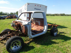 1977 Chev Short Box Step Side Project Truck
