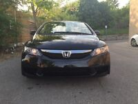 2009 Honda Civic LX-S Sedan Certified Etested mint inside