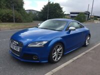 2009 AUDI TTS 2.0 TFSI 270BHP DSG SPRINT BLUE GREAT SPEC not ttrs golf gti Leon cupra vxr r32