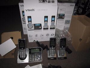 VTech CS5158-3 3-handset Cordless Phone - New, Open Box