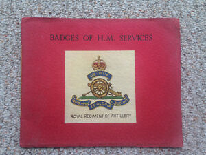 BADGES OF H.M. SERVICES BY Mj T. J EDWARDS