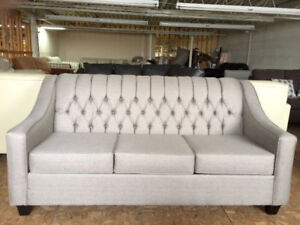 Brand New Canadian Made Tufted Back Couch!