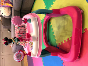 Minnie Mouse Baby walker (wheels)