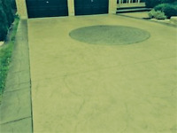 BEAUTIFUL COLORED STAMPED CONCRETE - BOOK NOW FOR EARLY INSTALL