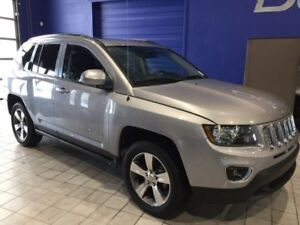2017 Jeep Compass High Altitude  4x4 w/ Leather, Sunroof