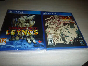Assault Suit Leynos(sealed),Guilty Gear Xrd Revelator(sealed)