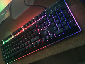 Clavier HAVIT illuminé