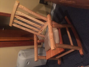 Pine rocking chairs by rusticraft furniture