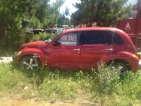 01 pt cruiser for sale or trade!!!