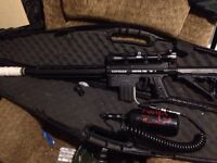 Paintball marker upgraded tippman98 for sale or trade for an AEG