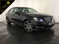 2013 63 MERCEDES-BENZ C220 AMG SPORT+ CDI AUTO 1 OWNER SERVICE HISTORY FINANCE