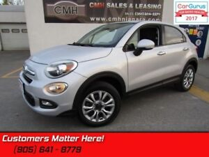 "2016 Fiat 500X Sport  AWD, ALLOYS, 5""-SCREEN, BLUETOOTH, KEYLESS"