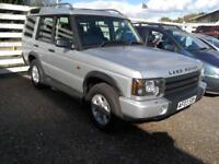 2003 Land Rover Discovery 2.5Td5 Diesel 7Seater 86K FSH Manual Silver VGC