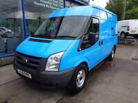 2011 FORD TRANSIT 115 T330M MWB MEDIUM ROOF FWD EX BRITISH GAS VAN VAN MWB DIESE