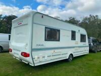 Coachman Pastiche 530/4 4 Berth caravan FIXED BED Awning, VGC Bargain !