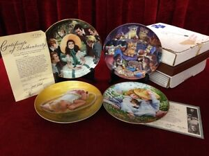 The Joys of Childhood Collector Plates 1-9, 4 MORE LIMITED