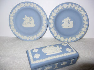 Lot of Vintage Delft, Wedgewood and Avon London Ontario image 5