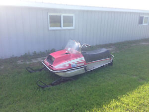 1979 Yamaha Enticer 340 with new track