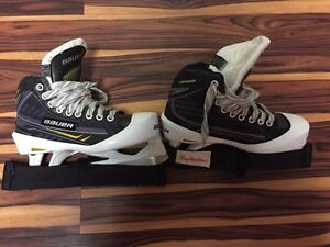Kids goalie skates- practically new!