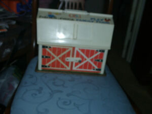 Fisher Price Barn with  accessories,