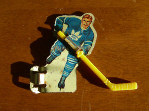 1960's Eagle Toy Co. Table Hockey Game Player Toronto Maple Leaf