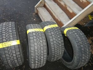 4 WINTER TIRE 215/60/R17 ARTICI 85% TREAD Kitchener / Waterloo Kitchener Area image 2
