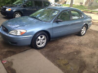 2007 Ford Taurus SE Sedan**SENIOR'S CAR**VERY CLEAN**$3750 OBO