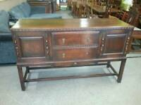 SPECIAL OFFER!! Stunning Oak Sideboard With Cupboards & Drawers- Can Deliver For £19