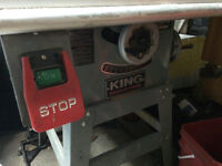 King table saw 2hp