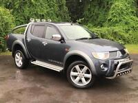 2008 Mitsubishi L200 2.5 DI-D Warrior Double Cab Pickup 4WD 4dr PICKUP in G(...)