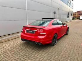 2012 12 reg Mercedes-Benz C36 6.3 AMG Coupe + PERFORMANCE PACK - RED -