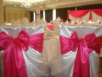 Rent Elegant Satin chair covers from $1