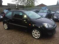 2008 Ford Fiesta 1.25 Style, Black 3dr Hatch, **ANY PX WELCOME**