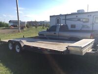 20' flat deck for rent