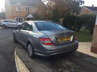 2007 MERCEDES BENZ C220 AUTOMATIC WITH SAT NAV HEATED LEATHER DVD