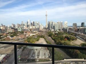 High-End Finished 1 Bedroom Condo+Parking+CN tower & Lake View
