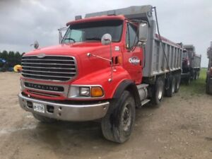 2000 Sterling Triaxle Dump Truck