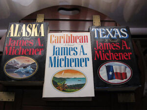 Hardcover books from James A. Michener