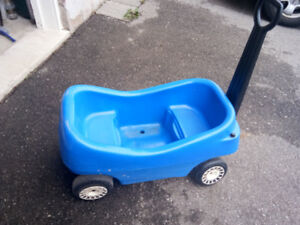 Kids Blue Wagon, Perfect Condition
