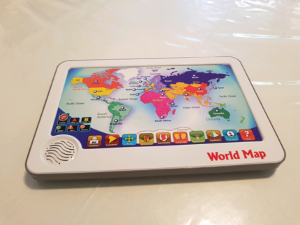 Leapfrog interactive world map and tag reader toys indoor interactive world map kids learning gumiabroncs Gallery