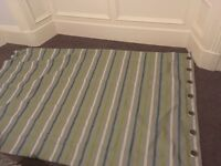 Set of ikea striped curtains 1m40 by 2m25 per curtain
