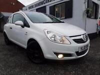 VAUXHALL CORSA ENERGY ECOFLEX 1.0 White with Black Roof and Rims 2010