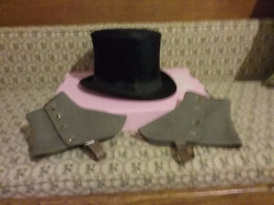Top Hat & Spats - NEW PRICE!!!