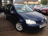 2008 (08) Volkswagen Golf 1.9TDI (105PS) Match **FVWSH** (Finance Available)