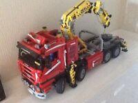 Lego technic truck crane