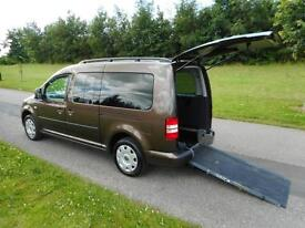 2014 Volkswagen Caddy Maxi Life 1.6 Tdi Automatic WHEELCHAIR ACCESSIBLE VEHICLE